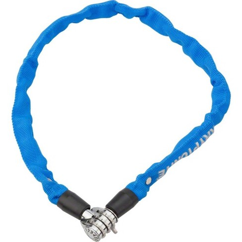 Kryptonite Keeper 465 Chain Lock with 3-Digit Combo: 2.13' x 4mm Blue - image 1 of 1