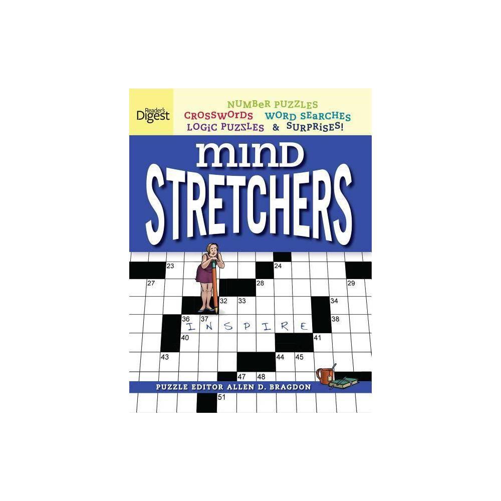 Reader S Digest Mind Stretchers Puzzle Book Volume 1 Mind Stretcher S By Allen D Bragdon Paperback