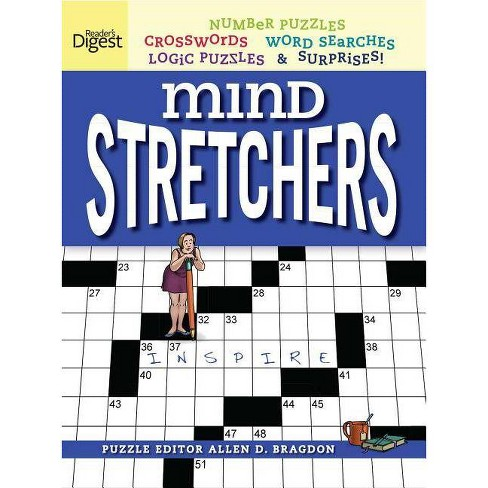 Reader's Digest Mind Stretchers Puzzle Book, Volume 1 - (Mind Stretcher's) by  Allen D Bragdon (Paperback) - image 1 of 1