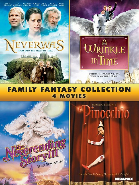 Family fantasy 4 film collection (DVD) - image 1 of 1