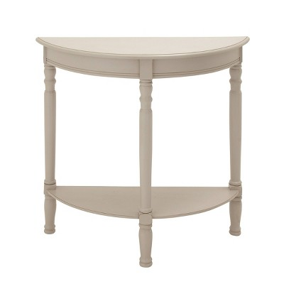 Farmhouse Wooden Console Table Cream - Olivia & May