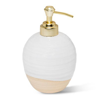 Artisan Ceramic Soap/Lotion Dispenser White - Threshold™