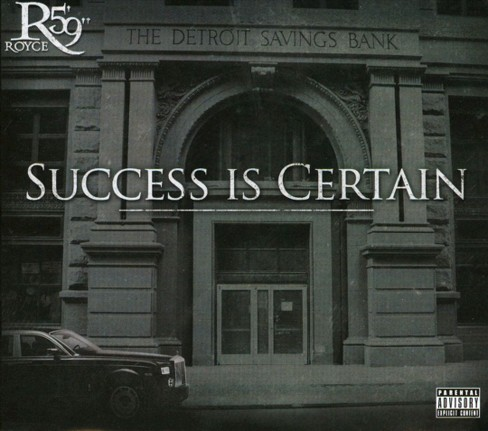 "Royce da 5'9"" - Success Is Certain [Explicit Lyrics] (CD) - image 1 of 1"