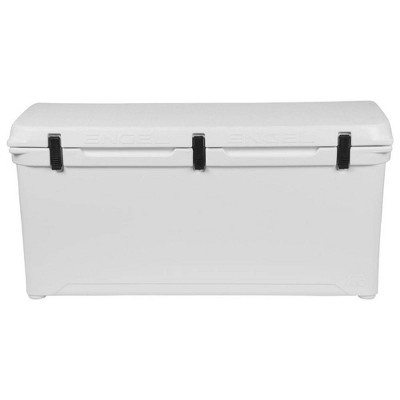 Engel High Performance 167-Quart Portable Durable Rotomolded Airtight 264 Can Hard Cooler and Ice Box for Camping, Sports Events, & Fishing, White