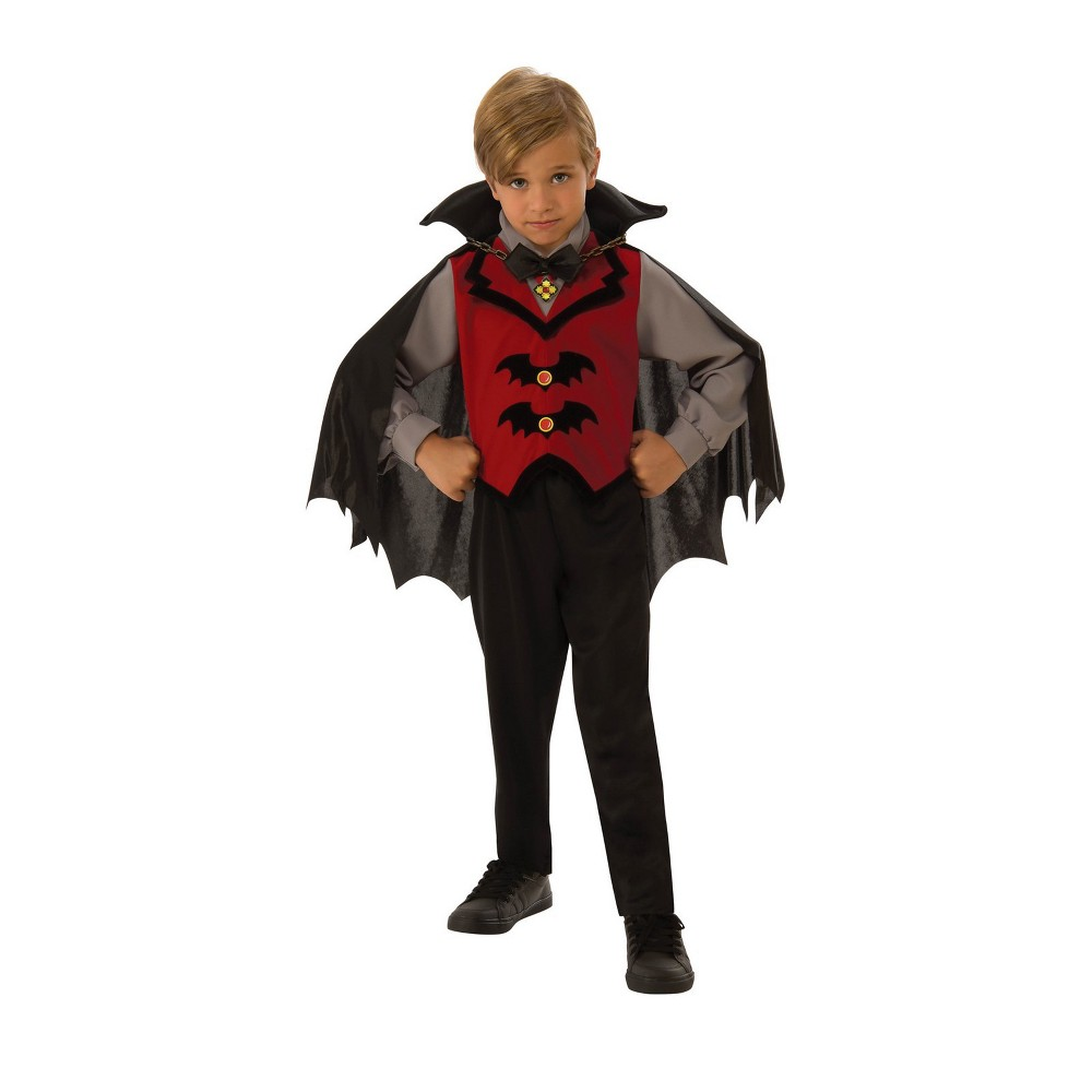 Boys' Vampire Halloween Costume L - Rubie's, Multicolored
