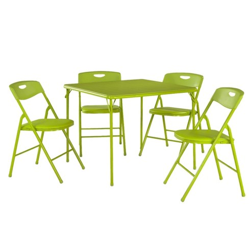 5 Piece Folding Table And Chair Set Cosco