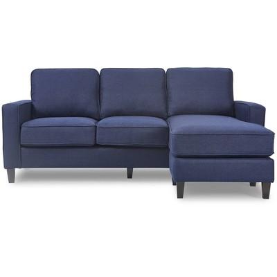Harmon Roll Arm Sectional Sofa - Serta