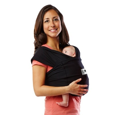 Baby K'tan ORIGINAL Baby Carrier - Black - Extra Large