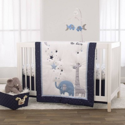 Little Love By Nojo Shine On My Love Boy Safari Crib Bedding Set - 3pc