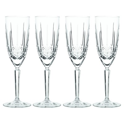 Marquis by Waterford Sparkle Crystal Champagne Flute 8oz - Set of 4