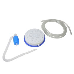 """Swimline Cover Saver Siphon Pump - Removes Rain Water from Winter Pool Cover 13"""" - White/Blue"""
