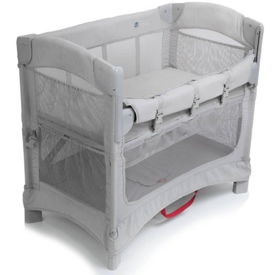 Arm's Reach Mini 2-in-1 Ezee Co-Sleeper Bassinet - Gray