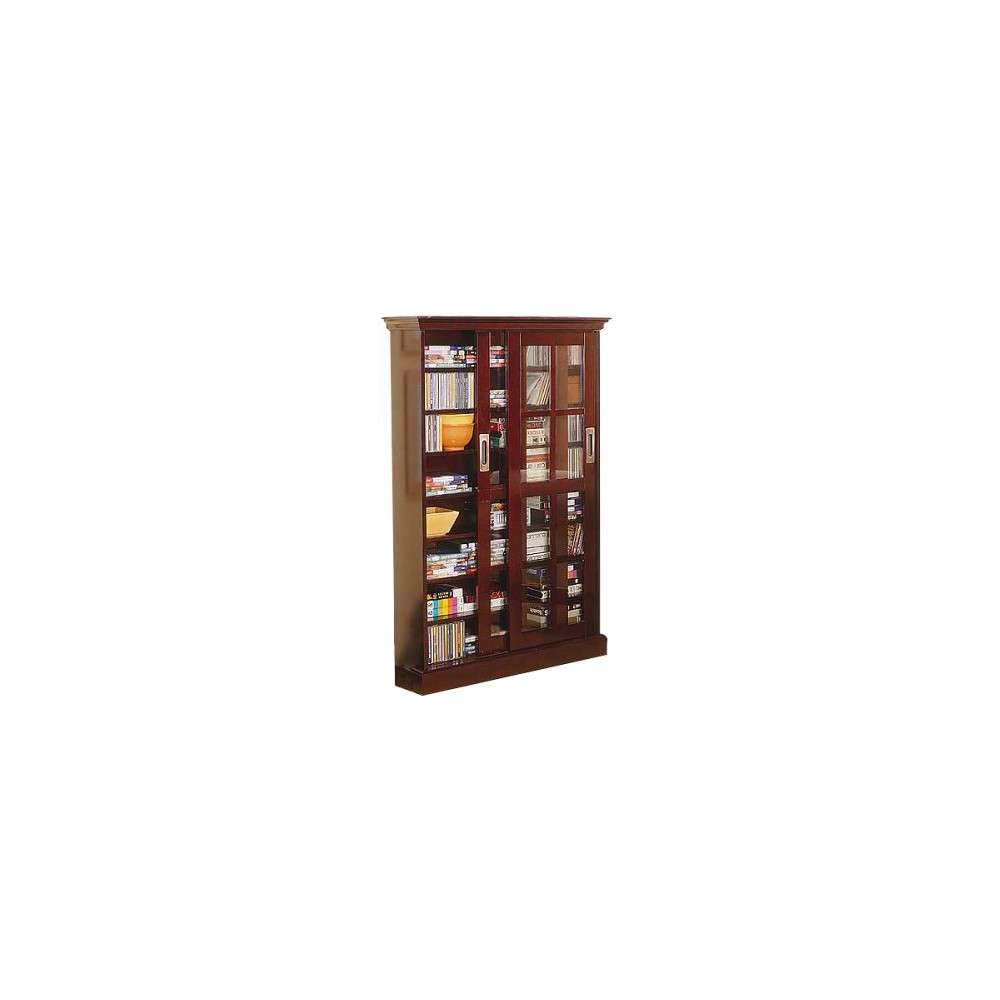 Sliding Door Media Cabinet Espresso 49 - Aiden Lane, Adult Unisex