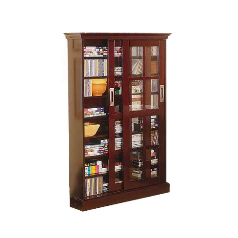 Sliding Door Media Cabinet Espresso 49 Aiden Lane Target
