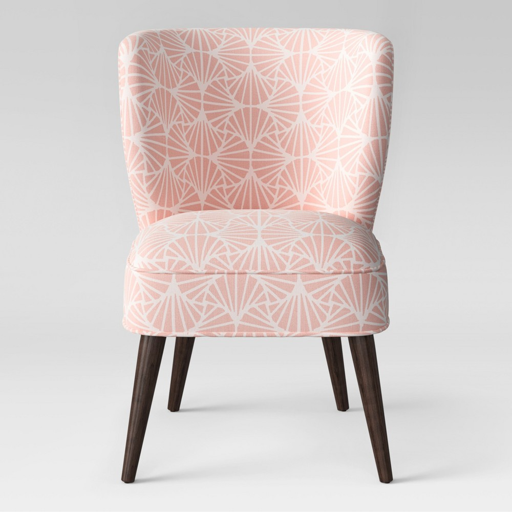 Pessac Curved Back Slipper Chair Scallop Pink - Project 62