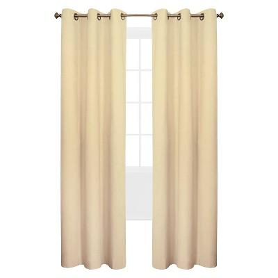 Weathermate Grommet Top Curtain Panel Pair - Natural (80 x 63 )