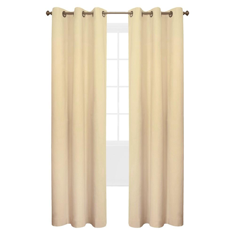 Weathermate Grommet Top Curtain Panel Pair - Natural (80 x 63)