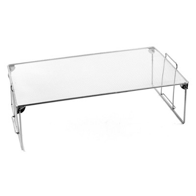 Design Ideas Mesh Stackable Utility Shelf – Storage Shelf Organizer