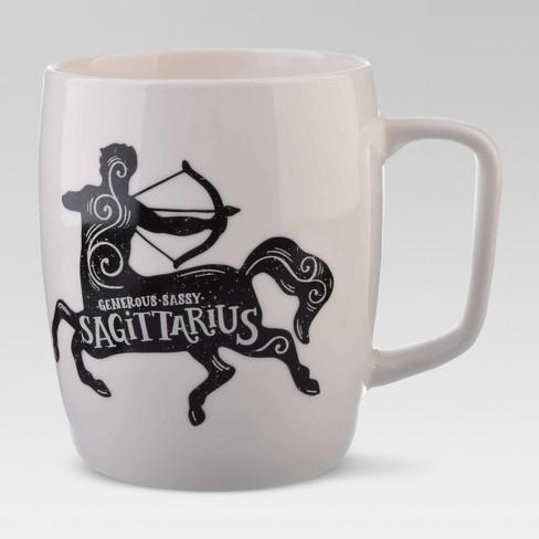 Zodiac Mug Threshold™ Sagittarius White Porcelain 18oz J1TFKc3l
