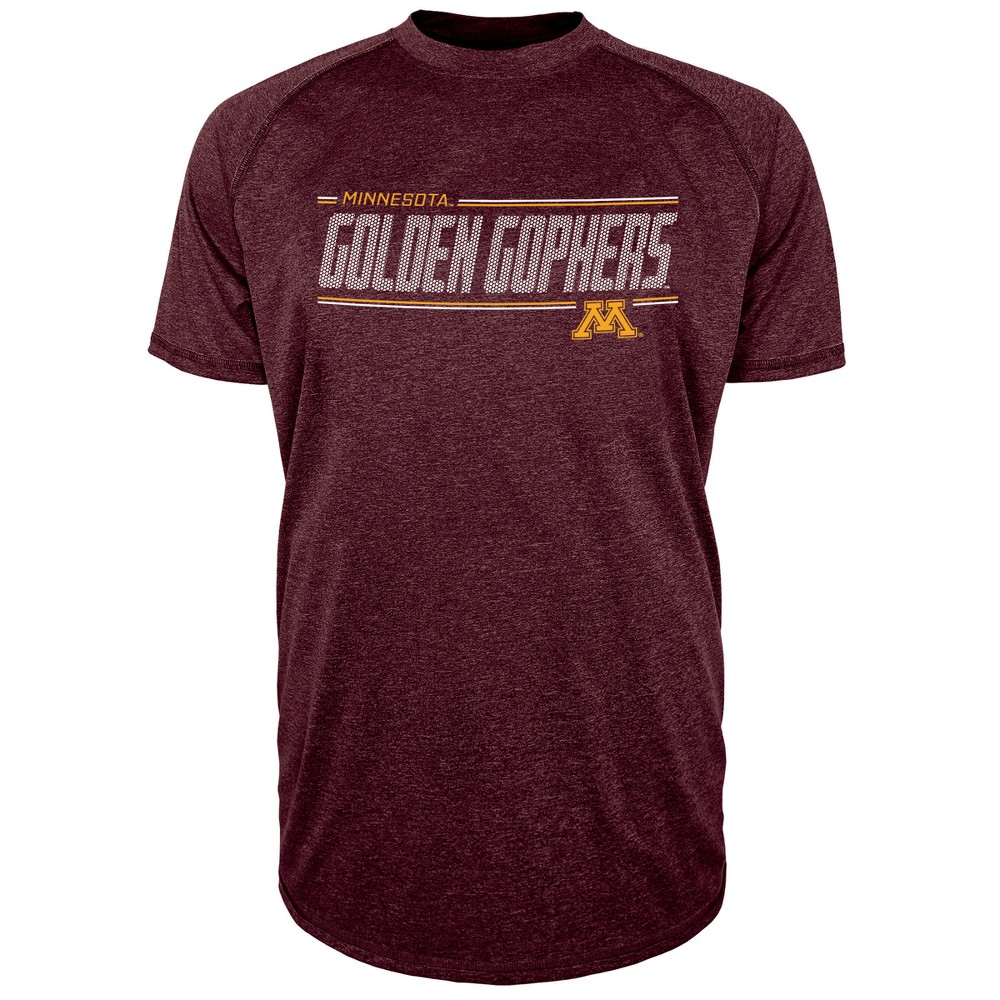 Minnesota Golden Gophers Men's Team Speed Poly Performance T-Shirt L, Multicolored