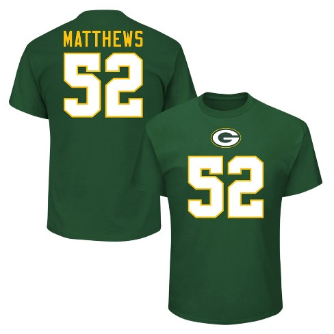 Green Bay Packers Men's Clay Matthews Jersey T-Shirt - image 1 of 3