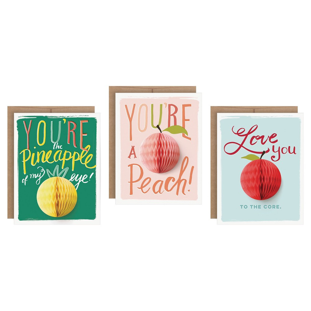 "Image of ""3ct """"Love You"""" Pop-up Greeting Cards"""