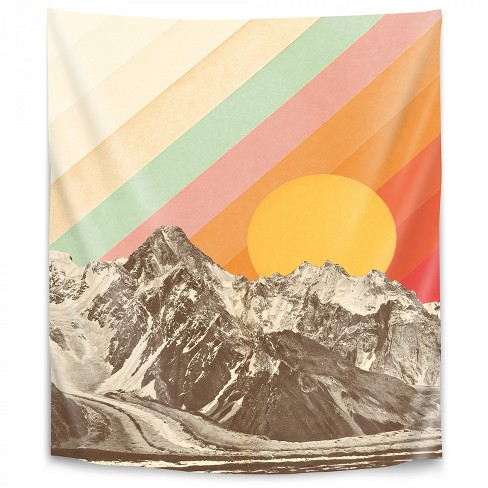 Americanflat Mountainscape 1 By Florent Bodart Wall Tapestry Target