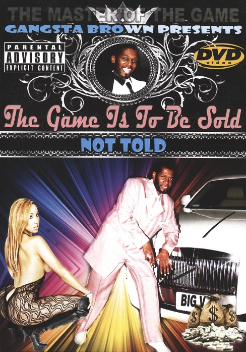 Game is to be sold not told (DVD) - image 1 of 1