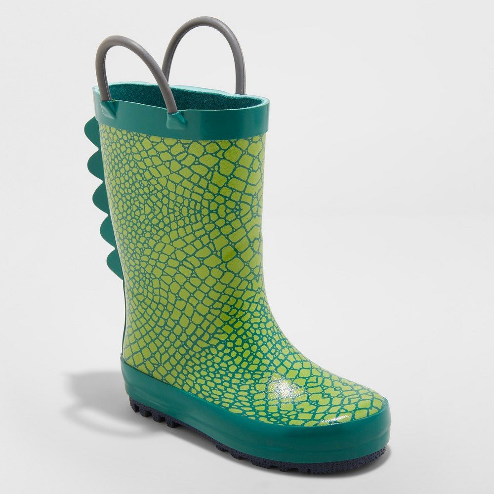 Toddler Boys' Graig Rain Boots - Cat & Jack Green 9