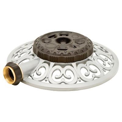 Metal 8 - Pattern Sprinkler - Light Silver - Melnor