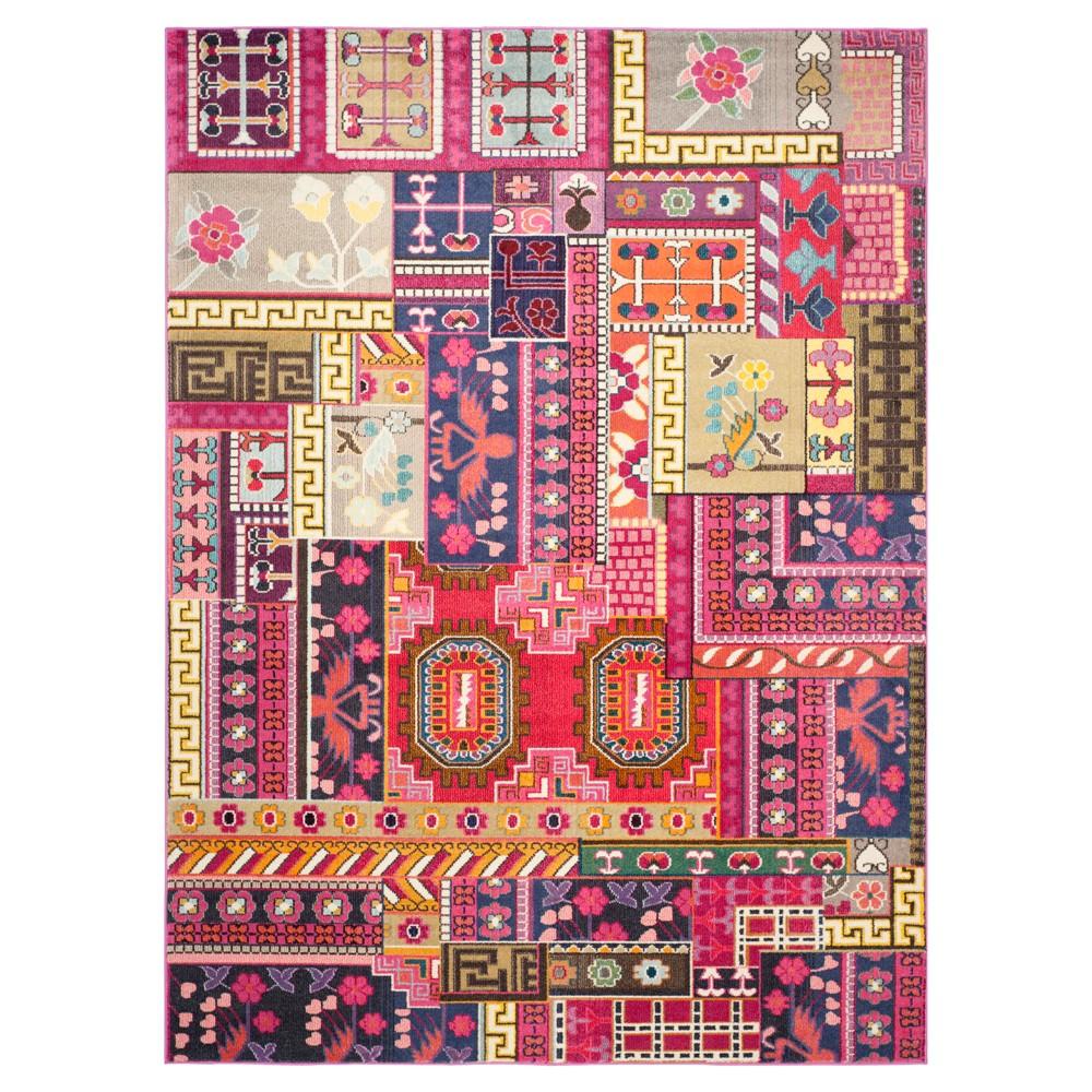 Everest Area Rug - Pink/Multi (9'x12') - Safavieh, Pink/Multicolor
