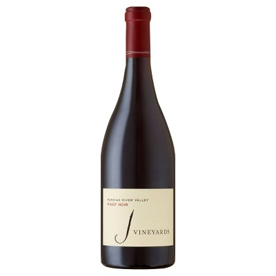 J Pinot Noir Red Wine - 750ml Bottle