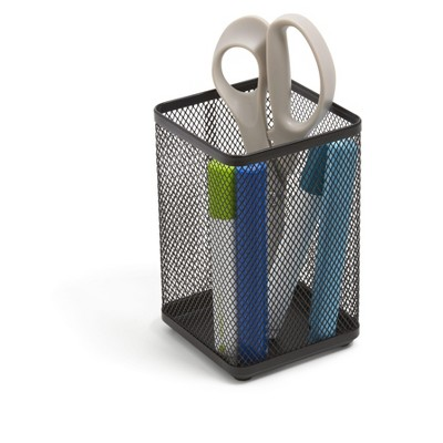 TRU RED Stackable Wire Mesh Jumbo Pencil Holder TR57573-CC