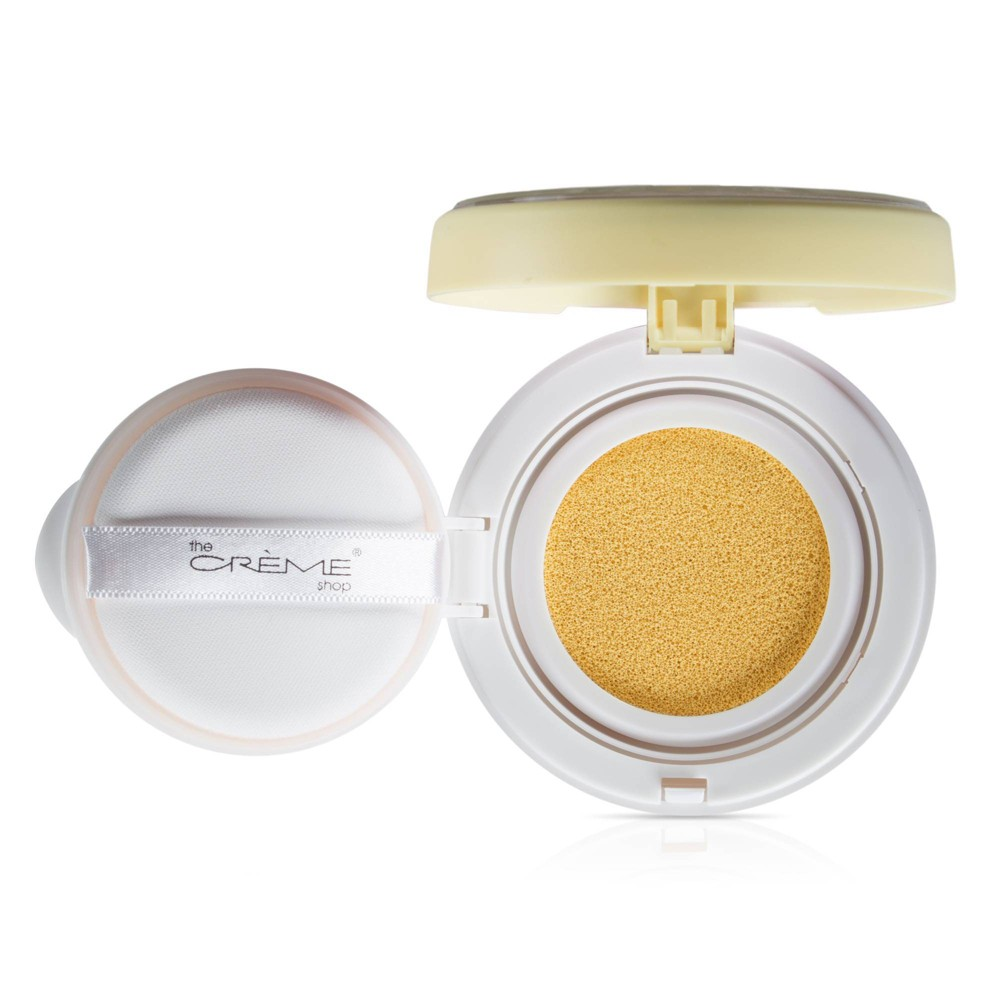 Image of The Crème Shop Clean Canvas Cushion Primer Yellow
