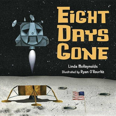Eight Days Gone - by  Linda McReynolds (Hardcover) - image 1 of 1