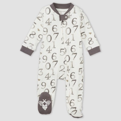Burt's Bees Baby® Baby 'One Two Bee' Sleep N' Play - Gray