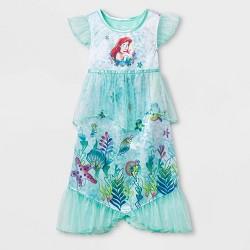 Toddler Girls' Little Mermaid Nightgown - Green