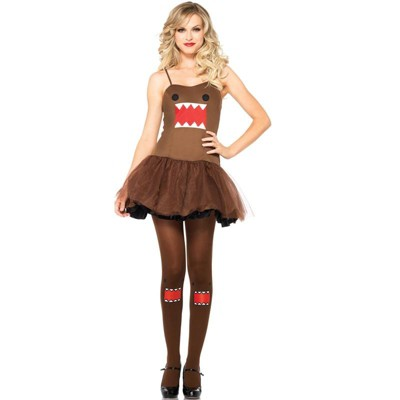Domo Character Dress Adult Costume