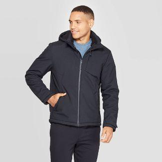 Men's Hooded Softshell Jacket - C9 Champion® Black XL