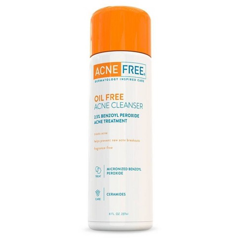 AcneFree Oil-Free Acne Cleanser to Prevent and Treat Breakouts - 8oz - image 1 of 3