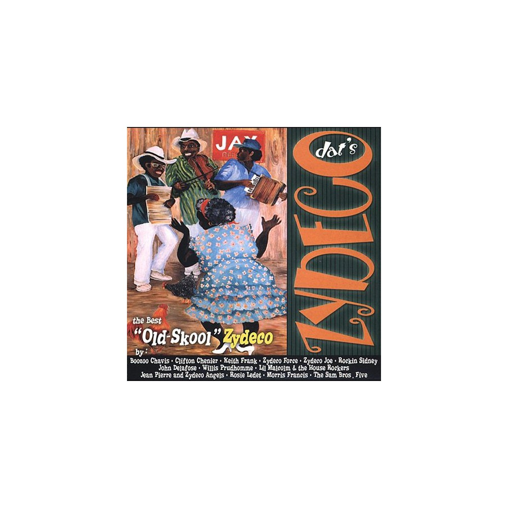 Various - Dat's zydeco:The best old (CD)
