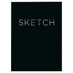 "Blank Sketchbook 8""x 11"" Black- Piccadilly"
