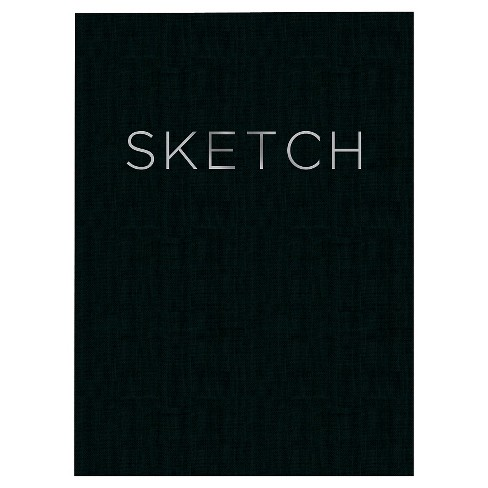 "Blank Sketchbook 8""x 11"" Black- Piccadilly - image 1 of 2"