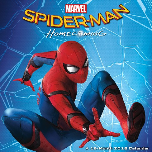 2018 Spider-Man Homecoming Wall Calendar - Trends International - image 1 of 3