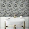 RoomMates Blue Long Stone Tile Peel And Stick Backsplash - image 2 of 2