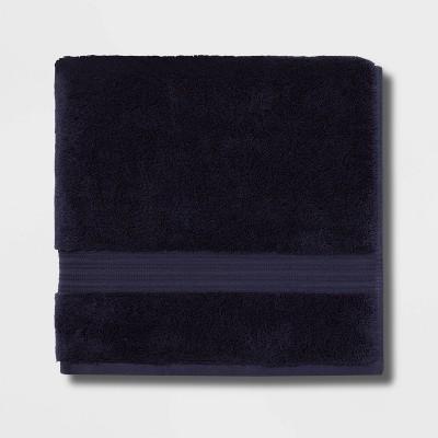 Antimicrobial Bath Towel Navy - Total Fresh