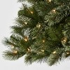 7.5ft Pre-lit Artificial Christmas Tree Full Virginia Pine Clear Lights with AutoConnect - Wondershop™ - image 3 of 4