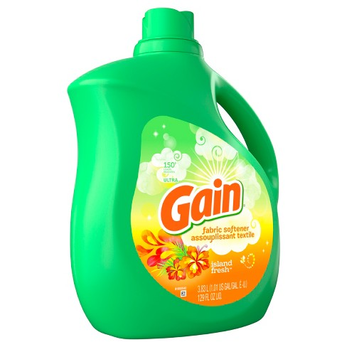 Gain Island Fresh Liquid Fabric Softener - 129oz - image 1 of 4