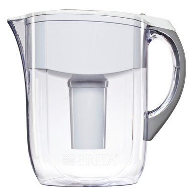 Brita® Grand Water Pitcher White 10 Cups