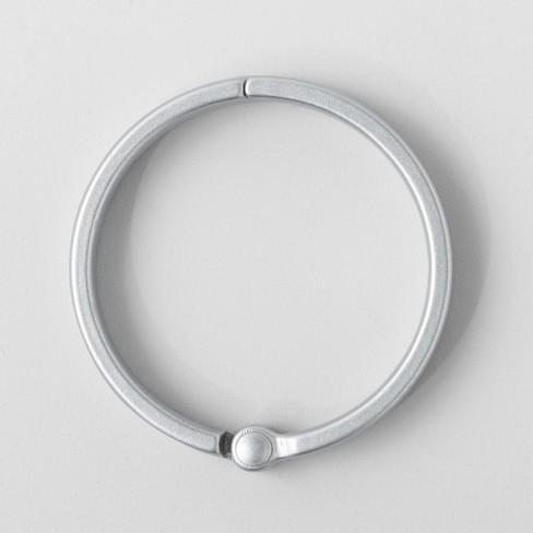 O Ring Aluminum Shower Curtain Hooks